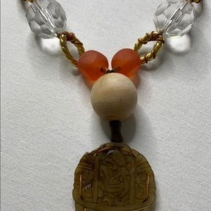 Jewelry - Mixed Media Statement Necklace